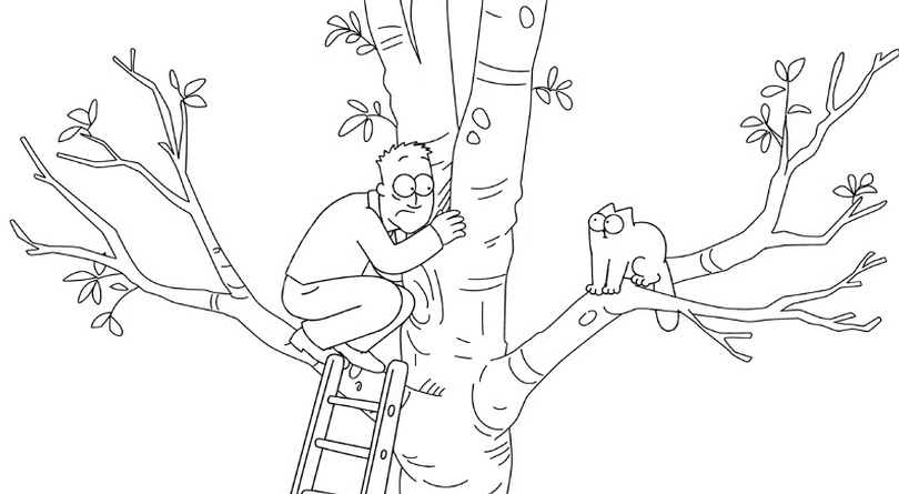 Simon's Cat - The Tree