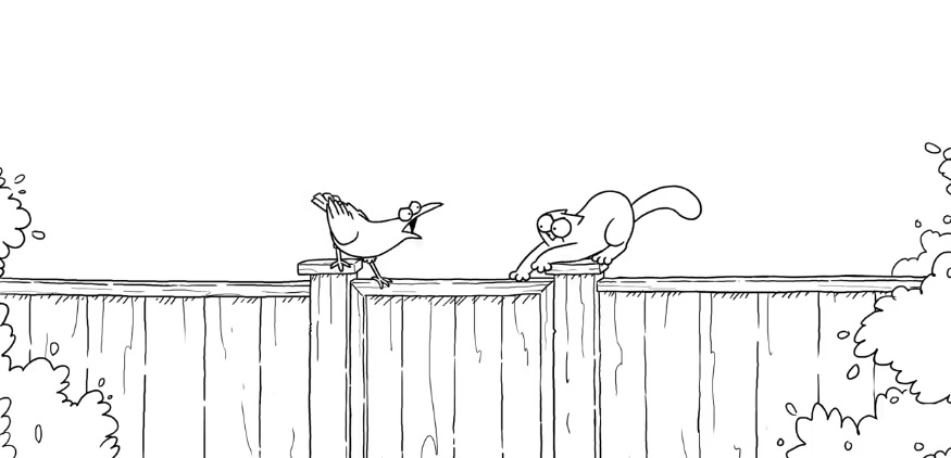 Simon's Cat - Crow