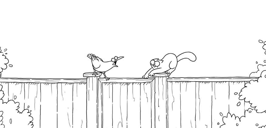 Simon's Cat - Crow