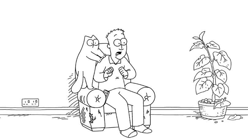 Simon's Cat - Armchair Fun