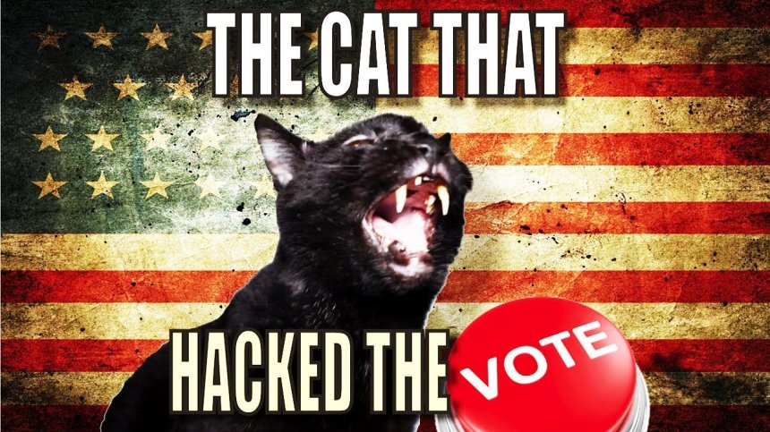 Talking Kitty Cat - The Cat That Hacked The Votes